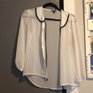 Lily white blouse from Nordstrom